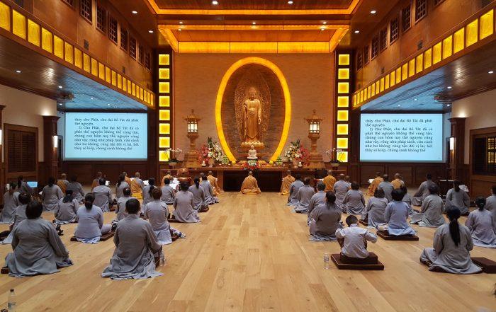 Lien Hoa Buddhist Temple, Đạo Tràng Liên Hoa, Khóa Tu 2021
